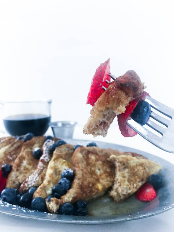 Protein french toast bite