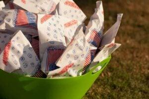 caramel corn in bags
