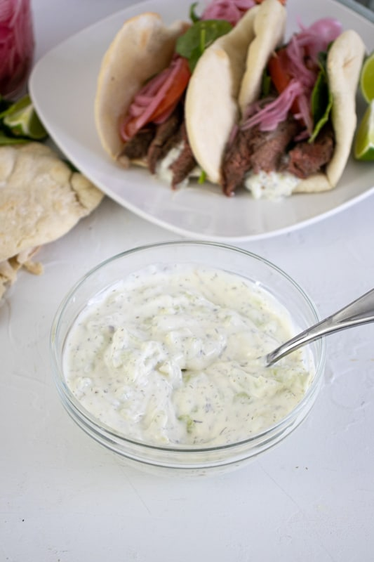 Easy Homemade Tzatziki Sauce Fueling A Southern Soul